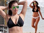 Imogen Thomas wears mismatched bikini in Dubai