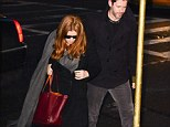 Amy Adams and Darren Le Gallo  Wake for Philip Seymour Hoffman, New York, America - 06 Feb 2014