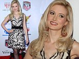 Fighting fit! Holly Madison sizzles in animal print at mixed martial arts awards show in Las Vegas