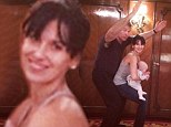 Running out of ideas already? Hilaria Baldwin enlists husband Alec and baby Carmen for challenge to post one yoga pose picture every day