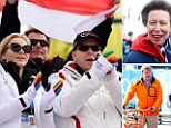 Princess Anne, Princess Charlene and Albert of Monaco and Dutch Royals wrap up at Sochi to watch Winter Olympics