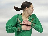 American figure skater Jason Brown appears to have the most talked about hair cut of the Olympics games. His ponytail even has its own Twitter account with thousands of followers.