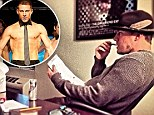 Another feather in his cap! Channing Tatum ditches the G-string as he tries on writerly hat to pen Magic Mike 2