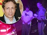 SNL vet Chris Kattan, 43, arrested for DUI after 'smashing into car on freeway then stumbling through sobriety test'