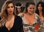 Kim Kardashian's sisters play a 'Mean Girls' trick on her as Kanye West enlists family to help with his surprise proposal