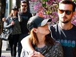 Blossoming love! Ashley Greene only has eyes for boyfriend Paul Khoury on amorous stroll in Los Angeles