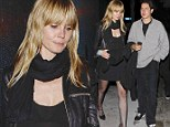 Single and already mingling? Heidi Klum, 40, spotted leaving nightclub with Demi Moore's ex toyboy lover Vito Schnabel, 27, in Hollywood