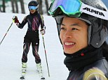 British violinist Vanessa Mae swaps the orchestra hall for the Sochi slopes as she prepares to represent Thailand in the giant slalom
