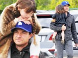 Daddy's girls! Jason Bateman keeps his daughters close to his heart on family trip to the Farmer's Market