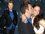 He Wants It That Way! Nick Carter opted to have a coed bachelor and bachelorette party with his fiancee Lauren Kitt at Ghostbar nightclub at the Palms Casino Resort in Las Vegas, Nevada on Saturday