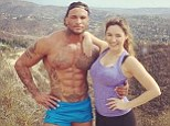 Fit and fitter! Kelly and her beautiful beast David