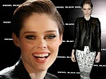 From catwalk to front row! Coco Rocha ditches the runway to check out the designs at Diesel's NYFW presentation
