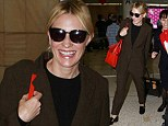 Home turf! Cate Blanchett is back Down Under for a brief Sydney stay before she jets back to LA for Academy Awards
