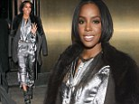 She's an Independent Woman: Kelly Rowland goes futuristic at fashion show wearing space-inspired silver suit