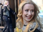 All smiles: Iggy Azalea out and about in New York
