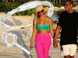 Gold in love! Jay-Z treats Beyonce to some Valentine's Day bling buying her a $2390 'promise' bracelet