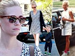 January Jones is back to her favourite role of Mommy as Mad Men wraps filming... and shares childhood snap for Throwback Thursday