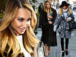 It's a wrap take two! Naya Rivera trades one warm stylish outfit for another while out and about in chilly New York City