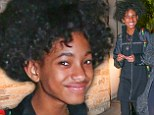 Not exactly made for whipping back and forth! Willow Smith debuts yet another new 'do with the hair chameleon now sporting a Afro