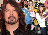 Foo-l diapers! Rocker Dave Grohl to have third child with wife Jordyn Blum