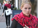 Sinking her teeth into something tasty! The Originals star Claire Holt shuns the Hollywood juice cleanse and picks up some food at popular LA deli