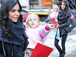Age defining! Bethenny Frankel, 43, turns school pick up into a fashion show in a young and stylish ensemble as it is revealed romance with toy boy is on 'the rocks'