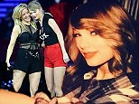 'Short hair don't care!' Taylor Swift debuts chic new bob after closing London leg of her tour with special guest Ellie Goulding