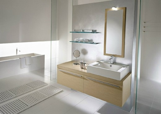 Folding Towel Rack Shelf for Small Bathroom Design