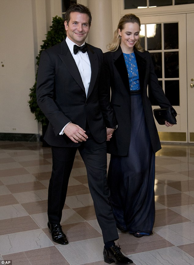 Loved up: The couple met at the Elle Style Awards last year, and are still going strong, attending events like a White House State Dinner