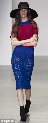 Chic: A masterclass in the art of the crochet pencil skirt
