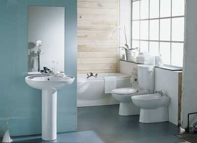 blue bathroom designs picture