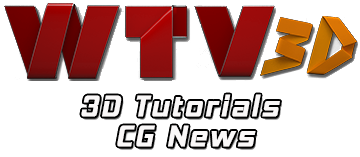 WTV3D - 3D TUTORIALS + CG NEWS