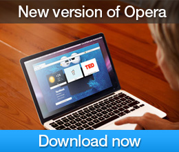 Download new version of Opera