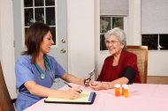 Elder Care Giver Has Good Results for Senior Woman