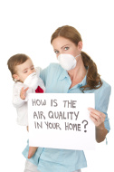 air quality in home concept