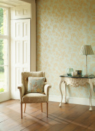 Formal Arm Chair In Window