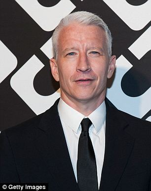 Opening up: Cooper, seen earlier this year, told a crowd of students that he initially kept his homosexuality private for fear that it would interrupt his work
