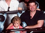 Making the most of it! Robin Thicke took son Julian to Disneyland on Sunday after cancelling a concert at Universal Orlando on Saturday night due to losing his voice