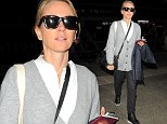 Naomi Watts arrives at LAX