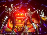 Goodbye KISS: Gene Simmons, Paul Stanley, and Tommy Thayer played together in Vancouver, Canada