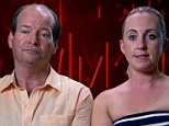 Madly in love: The pair have divided viewers of the Channel Seven show because of their nasty remarks about other contestants
