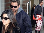 Scott and Kourtney in NY