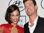 Robin Thicke and wife Paula Patton announce separation after nine years of marriage... but insist they will always be best friends