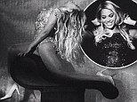 Turning up the heat: Beyonce shares raunchy photos from European tour... just as she's knocked for being too sexy