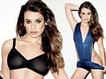 Glee good girl Lea Michele unleashes her wild side as she sizzles in new racy magazine photo-shoot