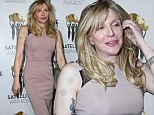 No wonder she's smiling! Courtney Love makes first public appearance since winning landmark Twitter libel case