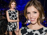 Looking sin-sational! Anna Kendrick steals the show as she parties in Las Vegas to celebrate Miles Teller's birthday