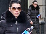 Starting her morning right: Julianna Margulies was spotted on her way to the gym in New York City on Sunday