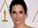 Previeous incident: Sandra Bullock, pictured at the 86th Academy Awards nominee luncheon on February 10, can be seen in a recently released video reacting to a fan's unwanted attention