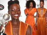 Lupita Nyong'o and Oprah Winfrey duke it out in the style stakes at the NAACP Image Awards... but the newcomer claims victory with yet another Supporting Actress win